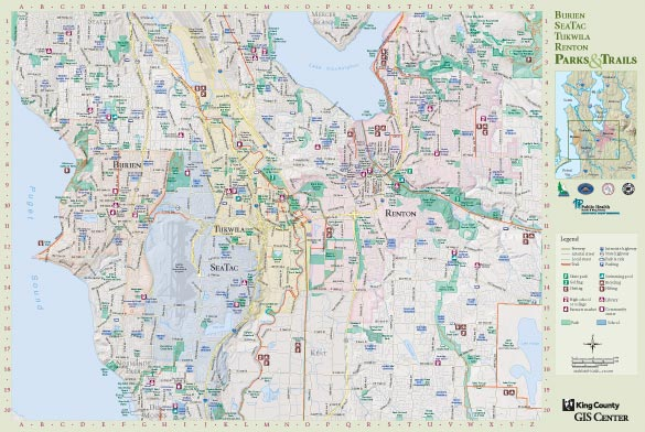 Recreation Maps King County