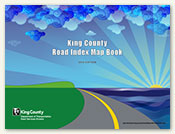 King County Road Index Map Book front cover thumbnail image