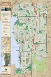 Map: Kirkland Parks, Facilities & Trails Guide (178K JPEG)