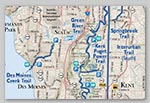 Regional Trails map sample detail thumbnail image
