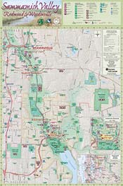 Map: Sammamish Valley Tourism & Recreation Map Guide (197K JPEG)