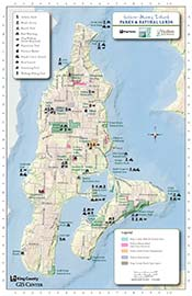 Map: Vashon - Maury Island Map and Guide