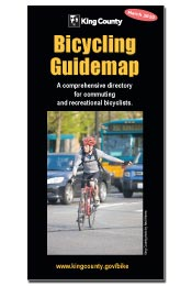 King County Bicycling Guidemap cover image