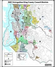 Map: 2005 Metropolitan King County Council Districts (104kb JPEG)