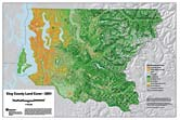 Map: King County Land Cover - 2001 (58k JPEG)