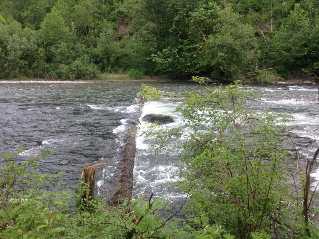 Flaming Geyser river closure at the Yo Yo Reach