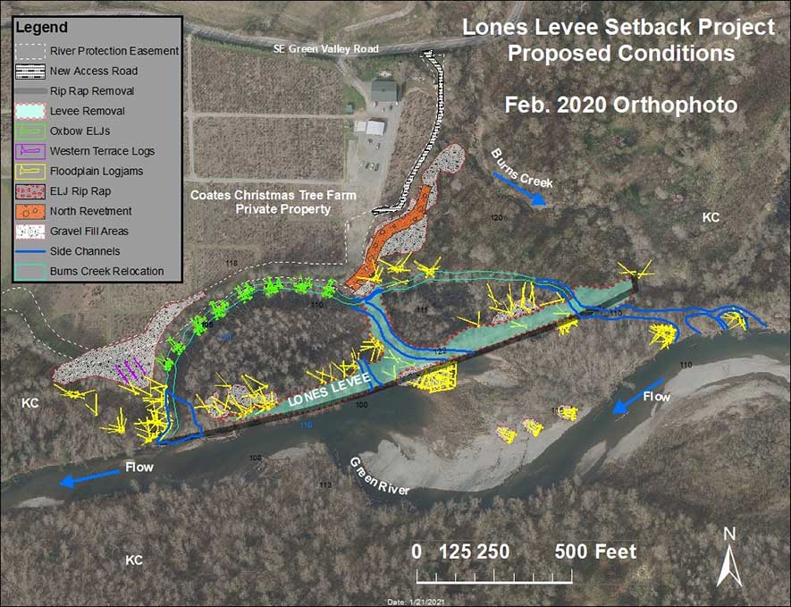 Lones  Levee Setback Project proposed plan