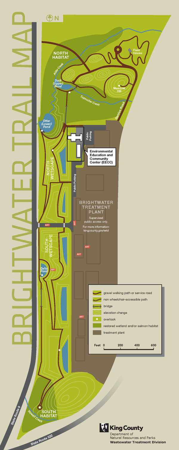 Brightwater Center Trail Map