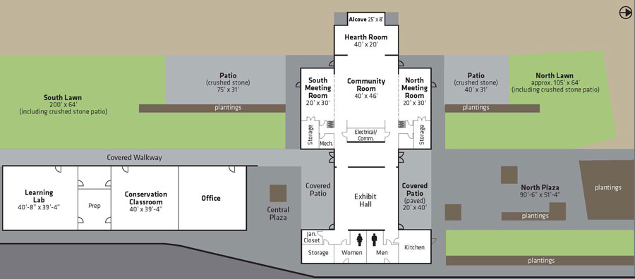 Brightwater Center Facility Floor Plan King County