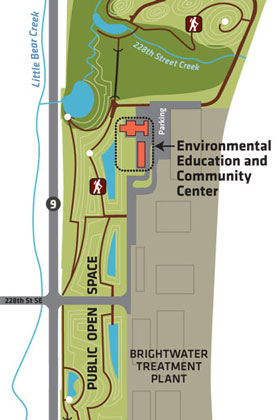 Directions to Brightwater Environmental Education and Community Center