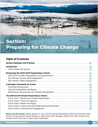 2020 SCAP - Preparing for Climate Change cover