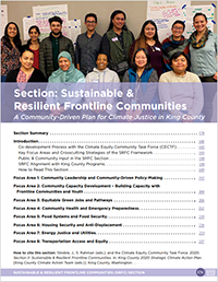2020 SCAP - Sustainable and Resilient Frontline Communities cover