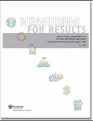 Report Cover - Measuring for Results 2004