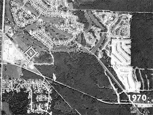 1970 Aerial Photo of the Fairwood Area