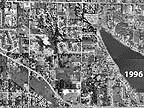 1996 Lake Meridian Aerial Photo