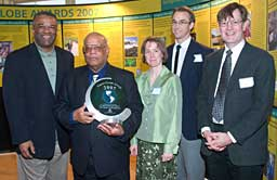 Climate Impacts Group (CIG) - from left, Ron Sims, Ed Miles, Amy Snover, Philip Mote, Richard Palmer