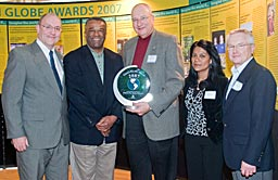 Federal Way Public Schools - from left, Neal Beets, Ron Sims, Tom Murphy, Margarita Jacobson, Ed Novak