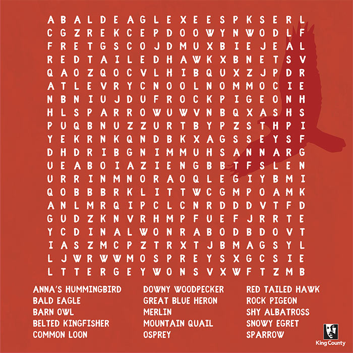 Native Birds Crossword puzzle