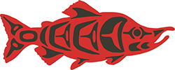 Kokanee salmon native artwork