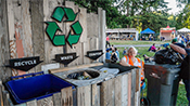 Master recyclers at marymoor concerts