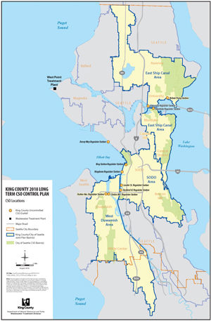 Cso Control Program System Plan - King County