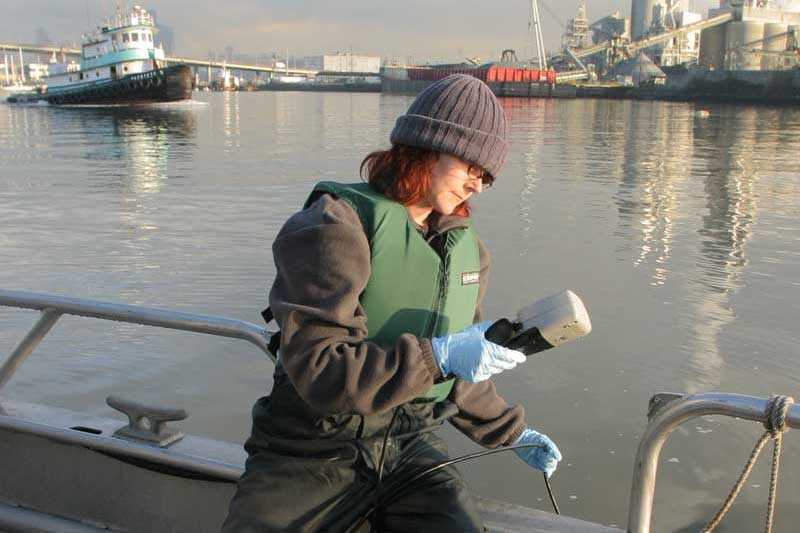 scientist on the Duwamish