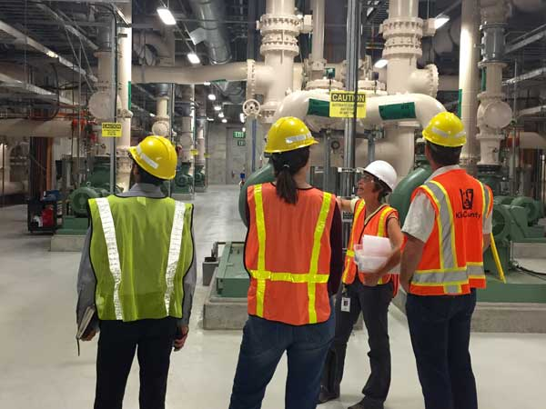 tour of Brightwater Treatment Plant