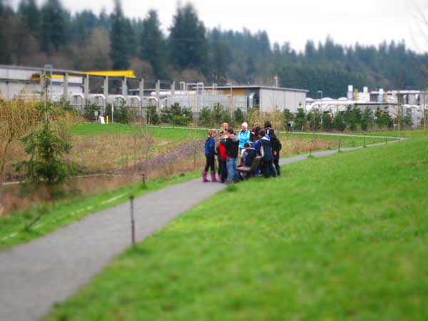 school wastewater treatment plant tour