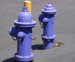 recycled water hydrants