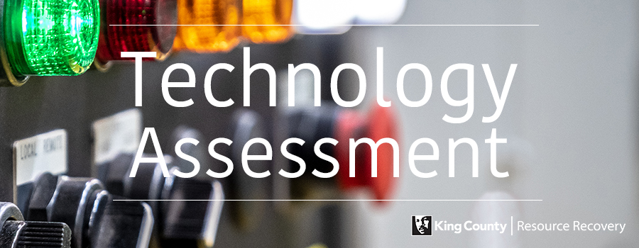 Technology Assessment splash image with control panel in background