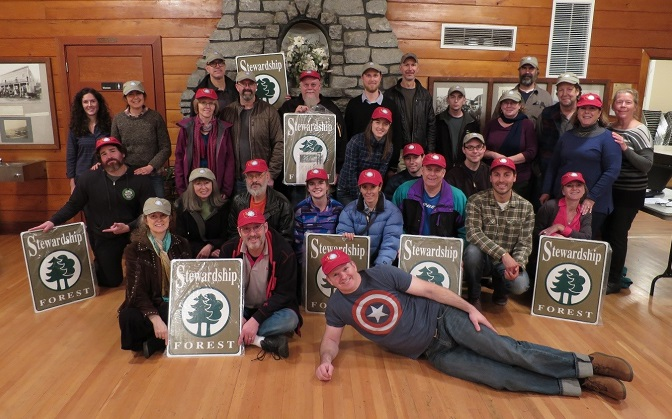 Forest stewardship class photo