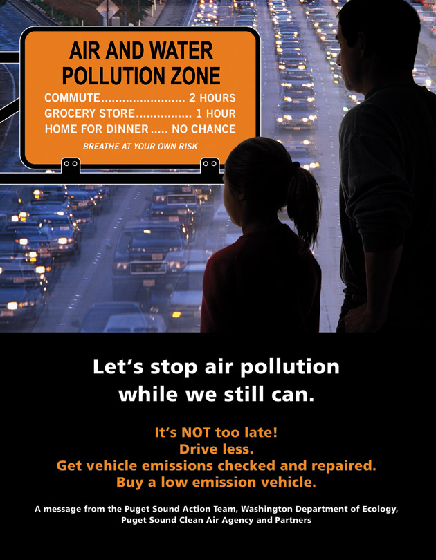 Vehicles Pollute Stormwater and Air Quality