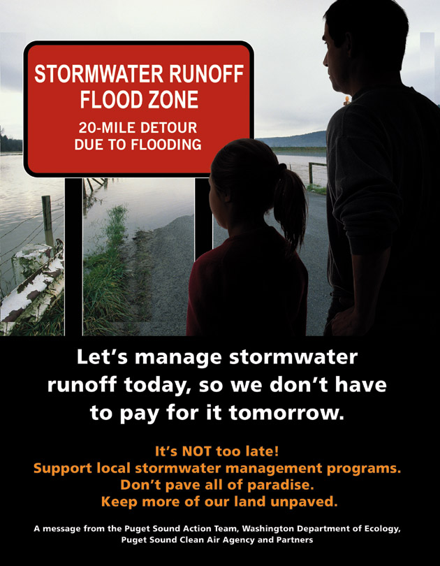 Stormwater Runoff Can Cause Flooding