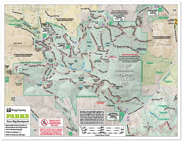 Recreation Maps - King County
