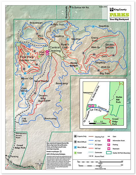Recreation Maps - King County on