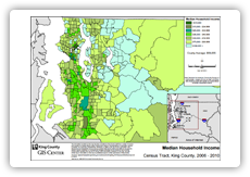 link to maps of King County demographics