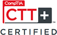 CompTIA CTT+ Certified badge