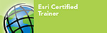 Esri Certified Trainer badge
