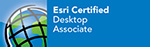 Esri Certified Desktop Associate badge