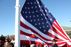 Veterans Day and Flag Dedication ceremony in Federal Way